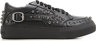 Slip on Sneakers for Men On Sale in Outlet, Black, Leather, 2017, 6 6.75 Jimmy Choo London