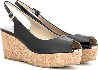 Zapatos Praise de charol y cuña Jimmy Choo London aEbLlBYXV