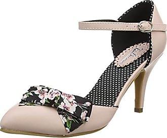 Harlow Vintage Shoes, Sandalias con Correa de Tobillo para Mujer, Beige (Mink a), 38 EU Joe Browns