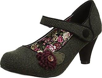 Womens Enchanting Ribbon Tie Shoe Closed Toe Heels Joe Browns d7yOt