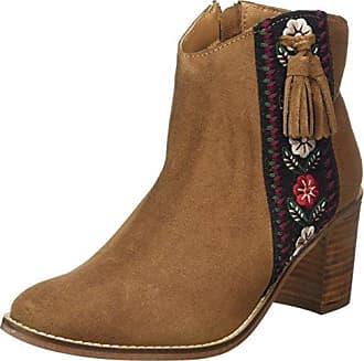 Joe Browns Damen Into The Woods Midi Boots Cowboy Stiefel, Braun (Brown A), 39 EU
