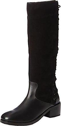 Damen Stylish Lace Back Riding Pumps, Schwarz (A-Black), 37 EU Joe Browns