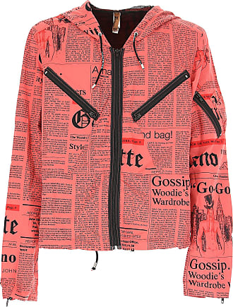 Jacket for Men, Red, polyester, 2017, L M XL John Galliano