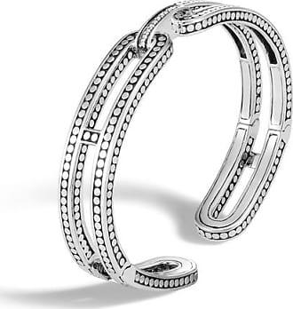 John Hardy Cuff With Diamonds S White diamond BOhjKXNm