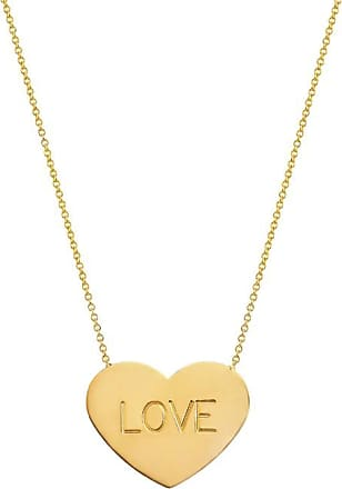 Johnny Was 14K Gold Custom Large Heart Of Gold Necklace Gold 6EjZUg