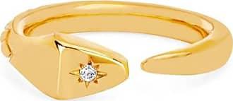 Johnny Was Snake Ring With Star Set Diamond Gold 3K8ifAjN