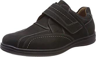 Jomos Credo, Zapatos de Cordones Oxford para Hombre, Multicolor (Schwarz/Shark 135-0042), 45 EU