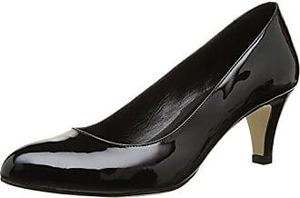 JONAK 277-Aysha - Zapatos de Vestir Para Mujer Negro Noir (Velours/Noir) 39 D1xzG