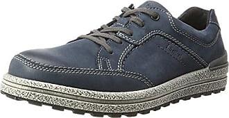 Josef Seibel 50309 - Zapatillas de Piel Hombre, Color Gris, Talla 44 EU