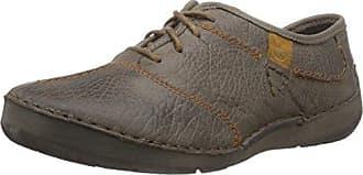 Josef Seibel Fallon - Zapatos con Cordones de Piel Mujer, Color Marrón, Talla 37