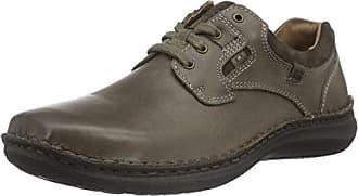 Josef Seibel Anvers 36, Zapatos de Cordones para Hombre, Marrón, 47 EU
