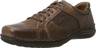 Josef Seibel Anvers 36, Zapatos de Cordones para Hombre, Marrón, 43 EU