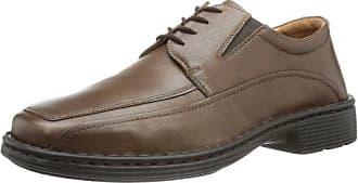 Josef Seibel Andrew 21, Zapatos de Cordones Derby para Hombre, Gris (Vulcano-Kombi 261), 41 EU
