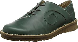 Melli 01, Zapatos de Cordones Derby para Mujer, Azul (Ocean 530), 39 EU Josef Seibel