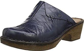 Josef Seibel 56508-61-400 Catalonia 44 Damen Schuhe Sandalen Pantoletten Clogs, Schuhgröße:38;Farbe:Rot