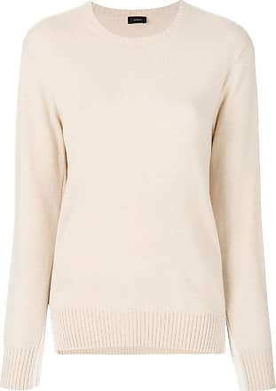Joseph Woman Striped Marled Ribbed-knit Cotton-blend Sweater Ecru Size L Joseph Cheapest Price Cheap Online Low Shipping Fee For Sale Eastbay Free Shipping In China WgNwf