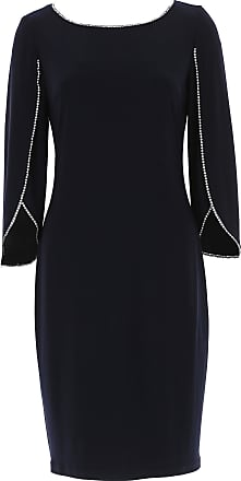 Dress for Women, Evening Cocktail Party On Sale, Black, polyester, 2017, 10 12 14 8 Joseph Ribkoff