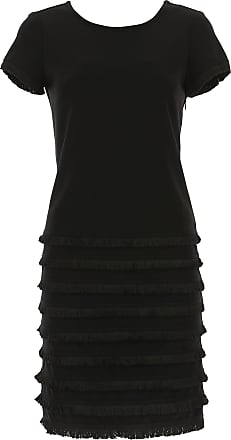 Dress for Women, Evening Cocktail Party On Sale in Outlet, Black, polyester, 2017, 14 Joseph Ribkoff