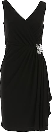 Dress for Women, Evening Cocktail Party On Sale, Black, polyester, 2017, 10 12 14 Joseph Ribkoff