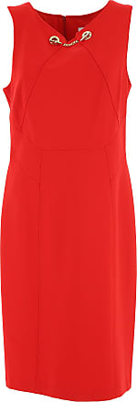 Dress for Women, Evening Cocktail Party On Sale, Red, Viscose, 2017, 10 12 14 16 Joseph Ribkoff