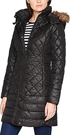 Newdale, Manteau Femme, Noir (Black Black), 34Joules
