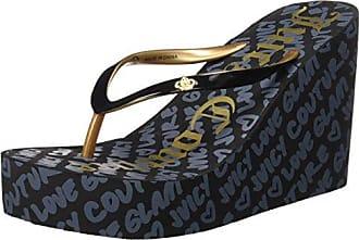 LESLIEEE, Sneakers Basses Femme - Noir - Noir (Black), 40Juicy Couture