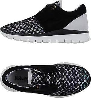 Just Cavalli JC Main Coll, Sneakers Basses Femme - Noir - Nero(900 Black), 36 EU