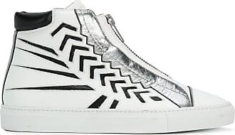 Canvas Hi-Top Sneakers Spring/summer Just Cavalli JAF5D40