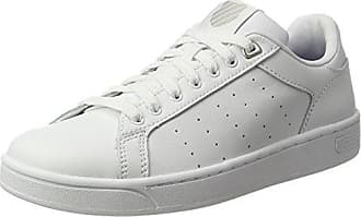 K-Swiss Court Cheswick, Zapatillas para Mujer, Blanco (White/Peaches N' Cream 159), 41 EU