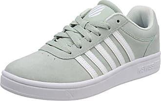 K-Swiss Court Casper Sde, Sneaker Uomo, Nero (Black/White 002), 44 EU