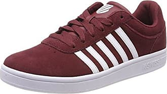 YT1, Sneakers Basses FemmeRougeRouge (Burgundy BUR), 35 EU EU