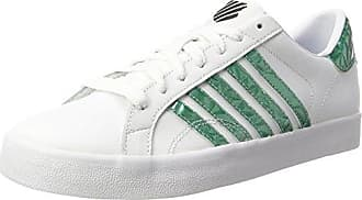Belmont So, Sneakers Basses Femme, Blanc (White/Blue/Black), 39.5 EUK-Swiss