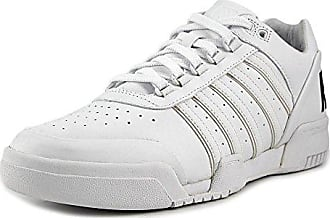 K-Swiss Gstaad BL–Chaussures Unisexe, Couleur Blanc, Gstaad BL, Blanc, 40 EU