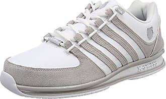 K-Swiss Arvee 1.5, Zapatillas para Hombre, Blanco (White/Silver Cloud/Charcoal), 46 EU