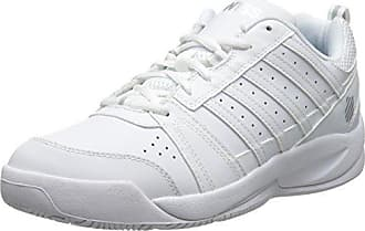 K-Swiss Bigshot Light - Zapatillas para Hombre, Color Blanco/Azul, Talla 44.5