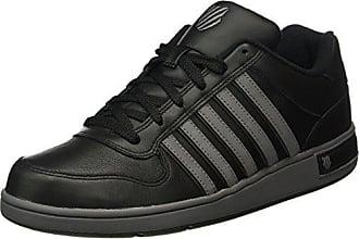 K-Swiss Hoke P, Sneakers Basses Homme - Noir (Black/Forest/Highrise), 44.5 EU