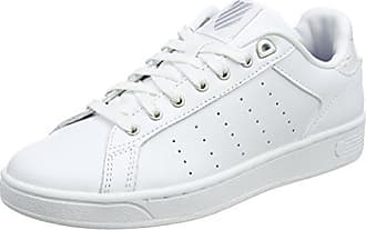 K-Swiss Clean Court CMF, Zapatillas para Mujer, Negro (Wind Chime/White 021), 41 EU