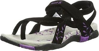 Kamik Bali Schwarz, Damen Sandale, Größe EU 37 - Farbe Black-Purple Damen Sandale, Black - Purple, Größe 37 - Schwarz