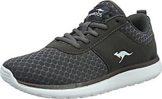 KangaROOS W-481 Kids S, Sneaker Donna, Blu (Dk Navy/Lime 4054), 41 EU