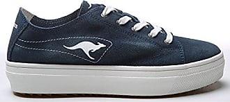 KangaROOS Damen K-Basket K-Mid Plateau 5071 Sneakers (38 EU) (Marineblau) RyP221y