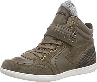 Unisex Adults K-Glitter Hi-Top Trainers Kangaroos 1Kbnklo