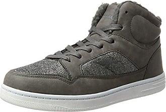 KangaROOS Draga, Sneaker Uomo, Schwarz (Jet nero/Steel Grey), 41 EU