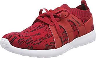 Kangourous Wespo, Chaussures Femme Pourriture (velours Rouge), 41 Eu