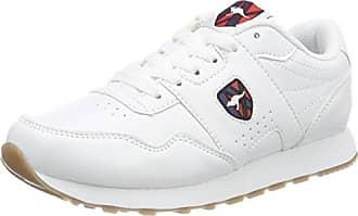 KangaROOS KR-Run 5, Sneaker Unisex-Adulto, Bianco (White/Vapor Grey 0001), 38 EU