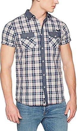 Vany, Camisa para Hombre, Azul (Navy), L Kaporal