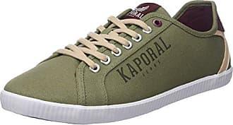 KaporalKaral - Botas de Caño bajo Hombre, Verde (Verde (Kaki)), 40