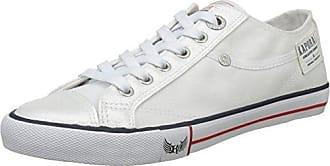 469574-52-3 - Zapatillas de Deporte de Lona Mujer, Blanco (Blanco (Blanc 3)), 41 EU Kaporal