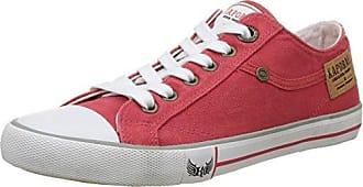 Icare - Botas de Caño bajo Mujer, Rojo (Rouge (Rouge)), 38 EU Kaporal