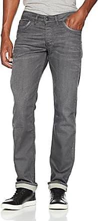 Arizona, Vaqueros Straight para Hombre, Gris (Grey 3h), W36/L30 Wrangler