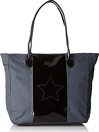 Nobem, Womens Top-Handle Bag, Black, 14x26x35 cm (W x H L) Kaporal